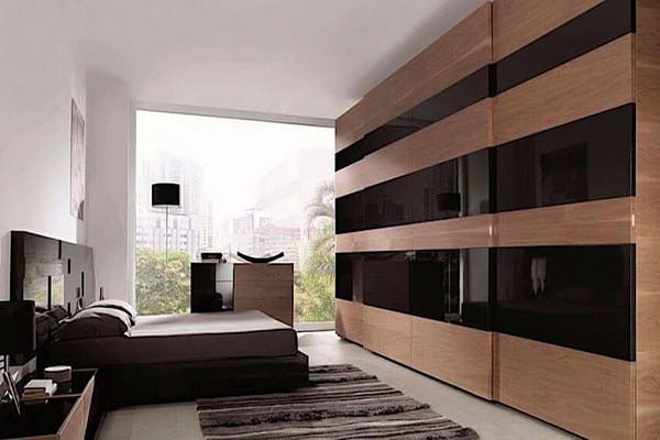 10 New Trends And Ideas To Have An Invisible Closet In The Bedroom