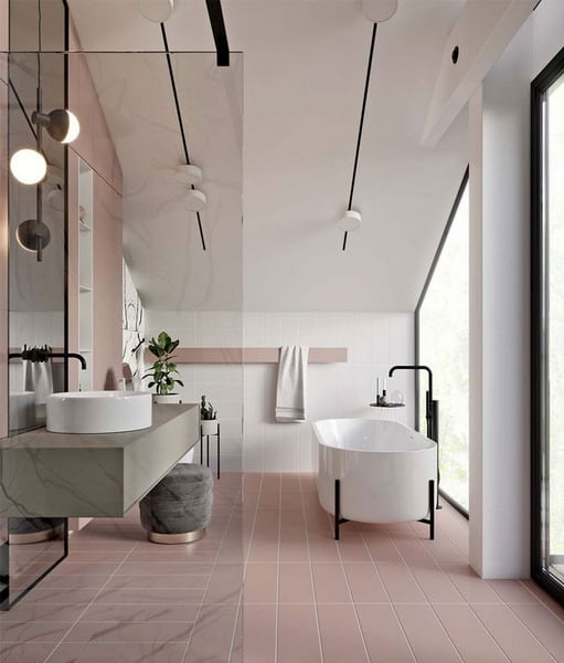 New Bathroom Decor Trends 2021 Designs Colors And Tile Ideas Edecortrends