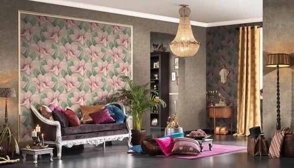 Modern Living Room Wallpaper Trends2020-2021