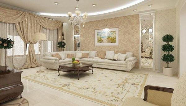 Modern Living Room Wallpaper Trends 2020 2021 Edecortrends