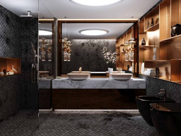 Modern Bathrooms 2021 Most Beautiful Design And Ideas Edecortrends