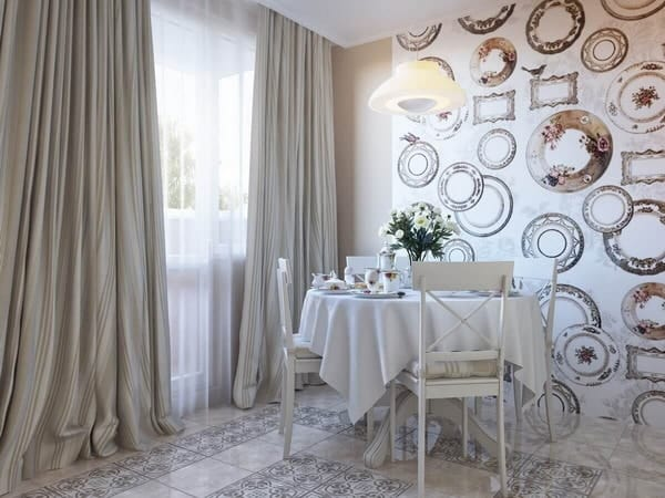 Wallpaper Trends for Kitchen 2021