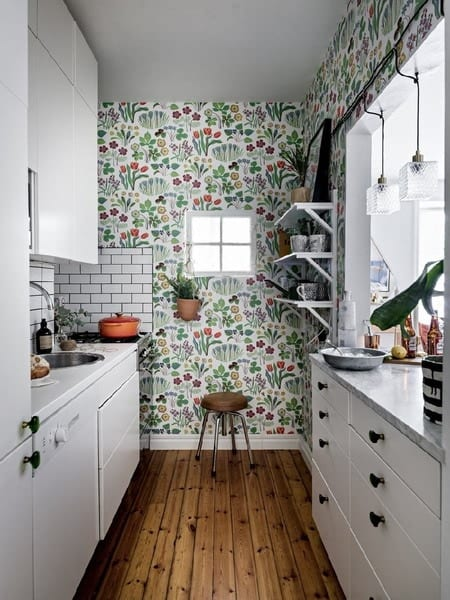 Wallpaper For Kitchen Modern Ideas 2021 2022 Edecortrends