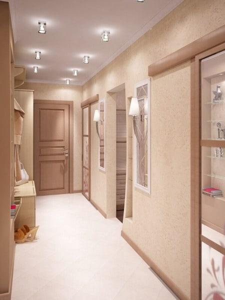 Corridor ceilings